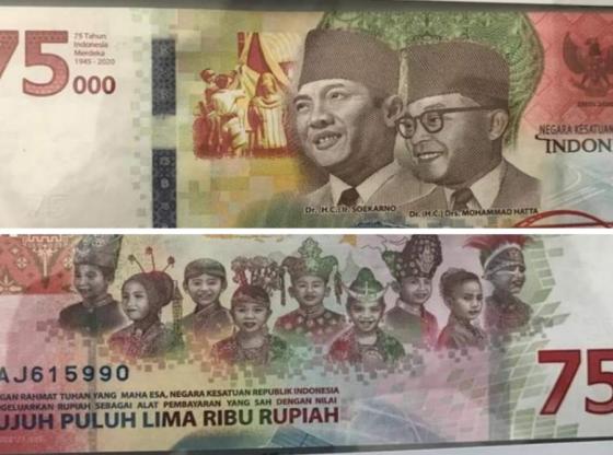 uang Rp.75.000